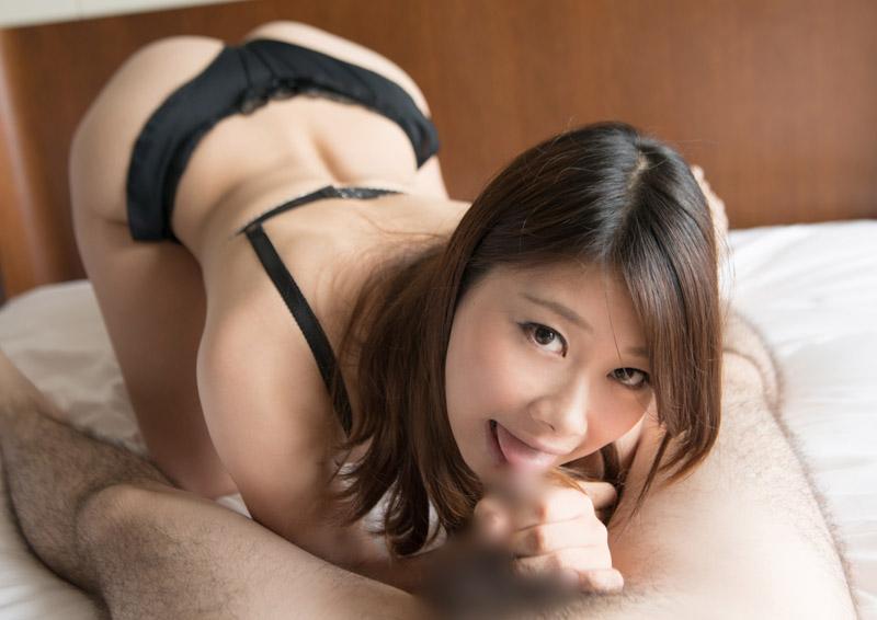 Yui #3 ねっとり舌と唇がHなフェラ
