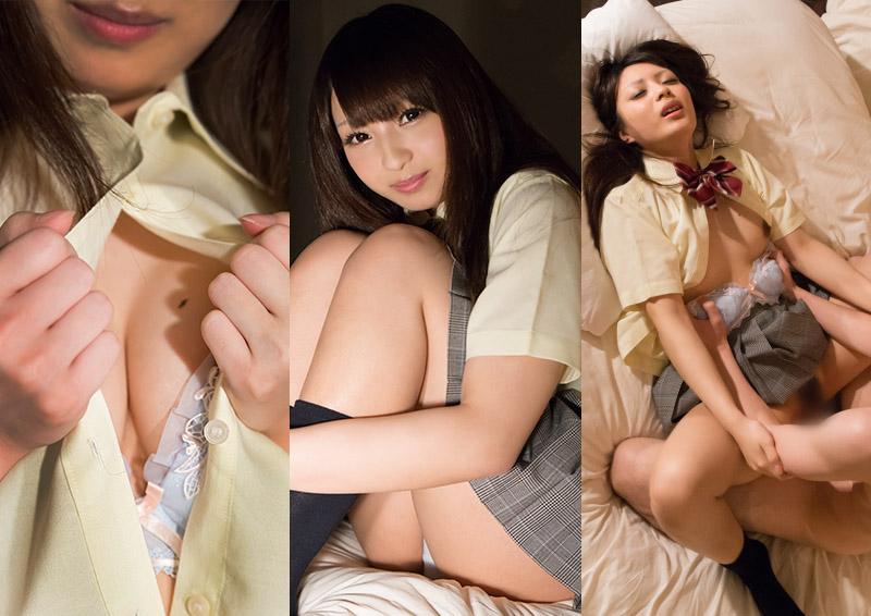 Kokona #2 控えめ制服娘の縦撮りH