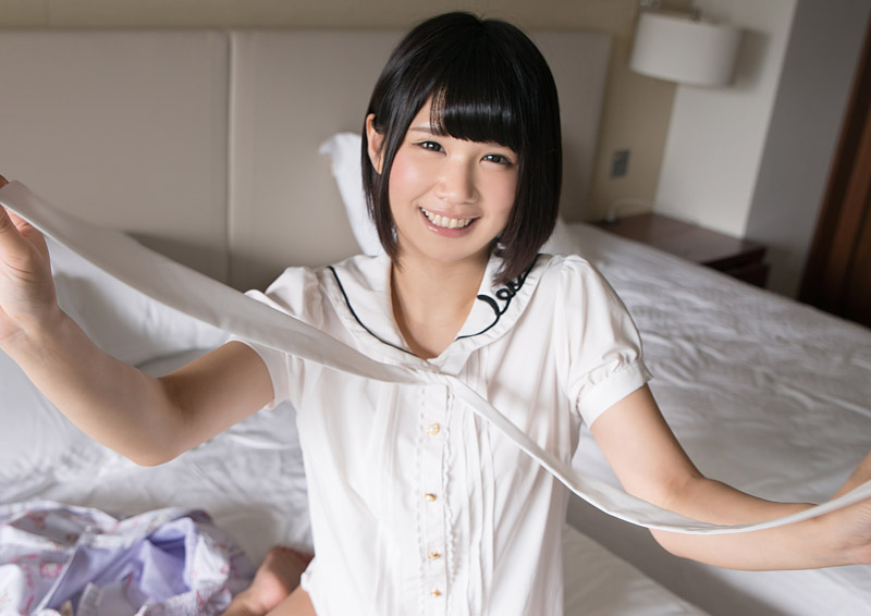 Aoi #1 ほがらか娘の照れH