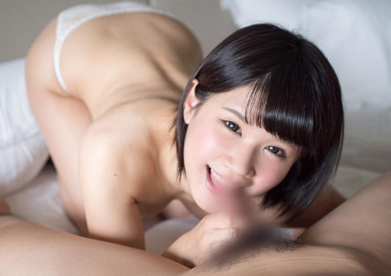 Aoi #4 ほがらか娘が健気に頑張るパイズリフェラ