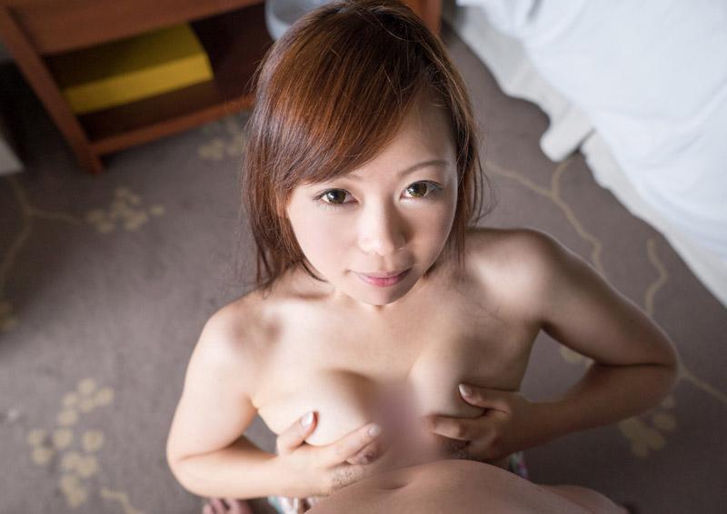 Ryouka #2 エロ唇とオッパイが際立つ立ちフェラ