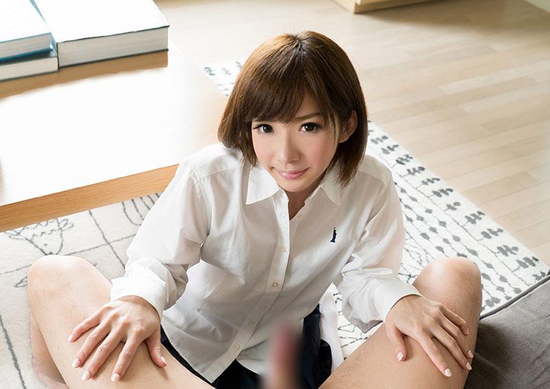 Urumi #8 制服美少女が夢中で舐めるご奉仕フェラ