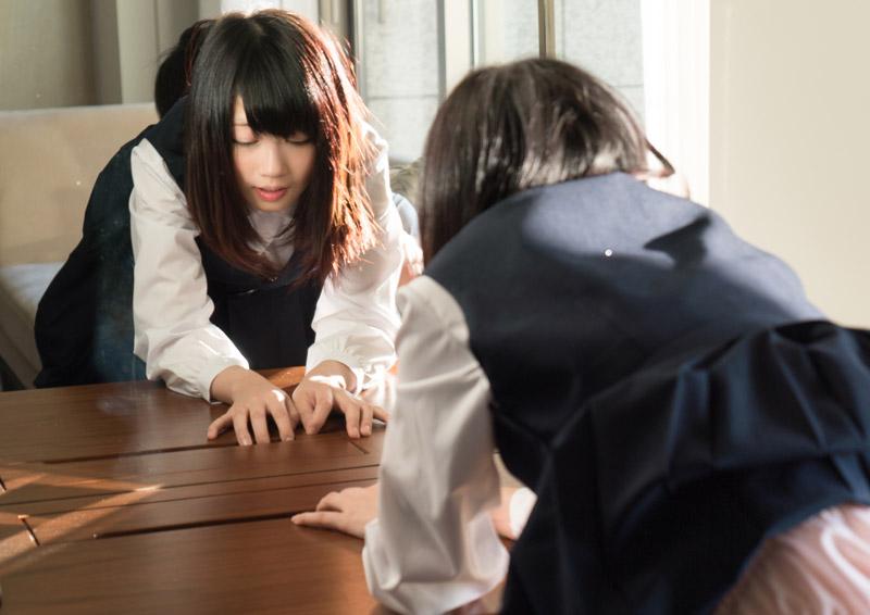 Asuka #2 鏡の前で制服を乱されちゃう放課後H