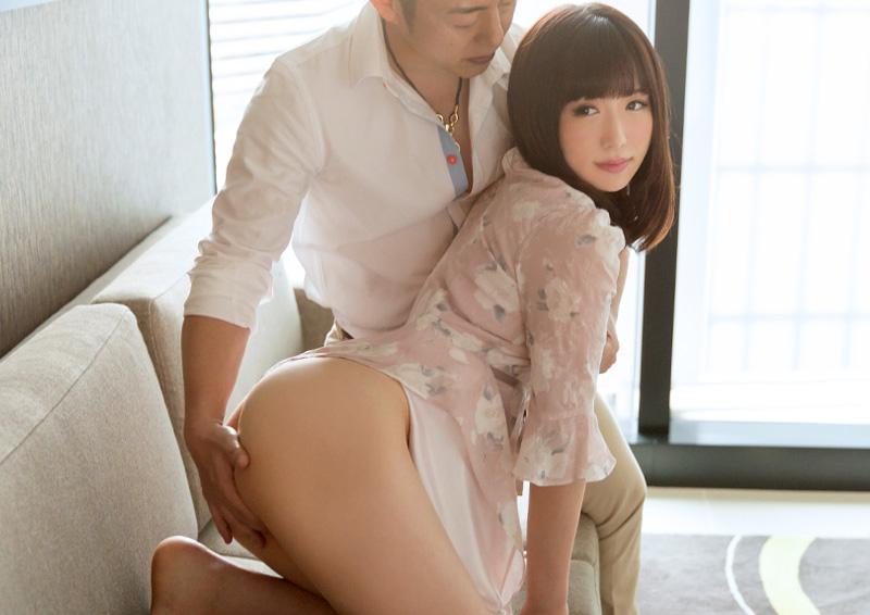 Haruna #3 キスも恥じらう巨乳美少女の純情SEX