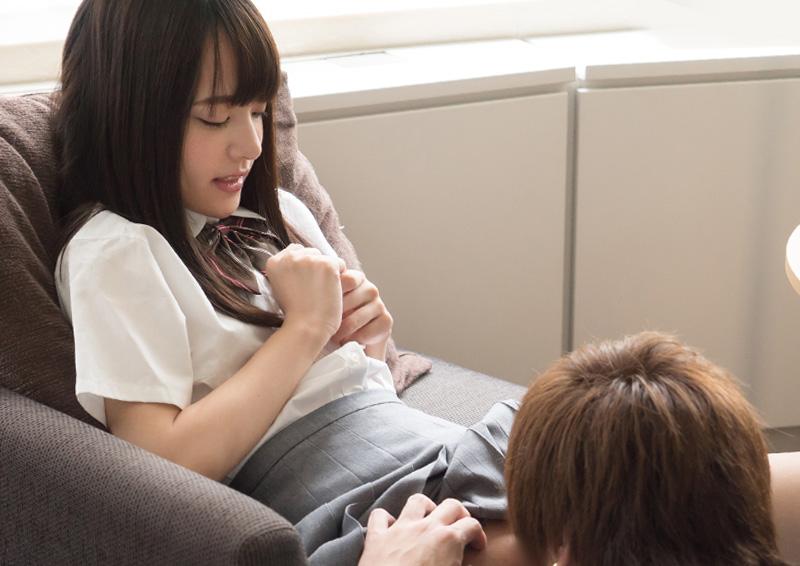 Mikako #4 制服美少女をイカせる優しいクンニ