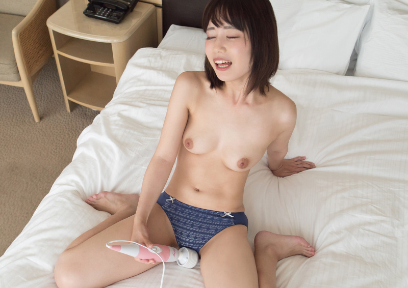 Yuki #4 敏感女子が何度もイッちゃう電マオナ