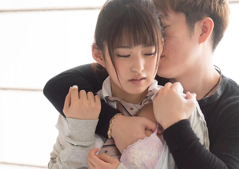 ポニーテール制服美少女のじゃれ合いH Mitsuki